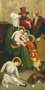 Saint Mary Cleophas and Her Family