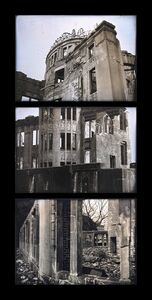 A Multiple Monument for the Atomic Bomb Dome, Study, Hiroshima