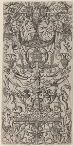 Ornament Panel with a Birdcage