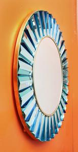 Studio-Built Circular Mirror