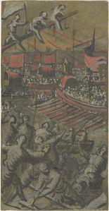 Venetian Ships Attacking Constantinople