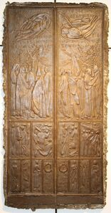 Stella Mattutina Bozzetto per la Porta di San Pietro