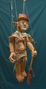Marionette As Billy the Kid