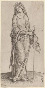 Judith Holding the Head of Holofernes