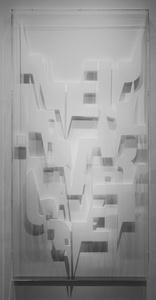 Plexiglas-Text