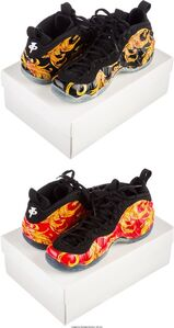 Air Foamposite 1, Supreme SP; 2 pairs