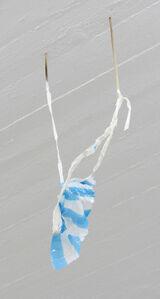 Untitled (sticks, tape, plastic)