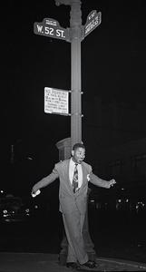 Dizzy Gillespie on 52nd Street, NYC