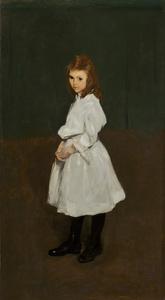 Little Girl in White (Queenie Burnett)