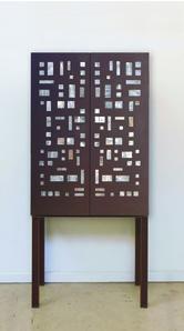 Geometric Design Cabinet