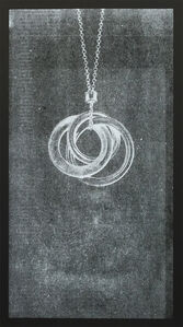 Ghost, Interlocking Circles Pendant, 2015