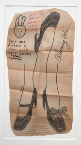 Untitled (Rabbit Shoe)