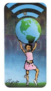 Girl Supporting Earth