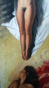 Legs Above, Head Below