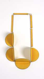 Collier 4-Circles (yellow)