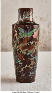Flower and Insect Vase