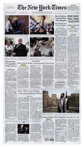 Online Newspapers: The New York Times