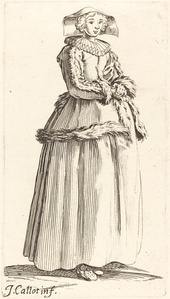 Young Woman with Hands Folded, Facing Right