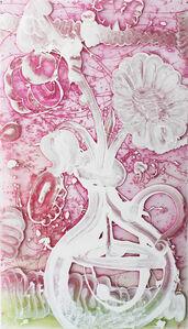Reverse Painting (Fuschia)