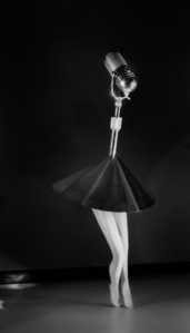 Walking Microphone With Skirt