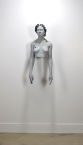 Woman Wearing Wilting Laurels