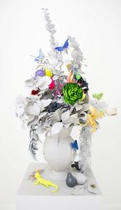 Untitled (Floral Still-Life Sculpture)