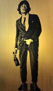 Cojones Mick Jagger, Gold