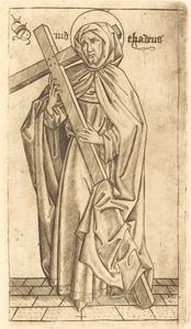 Saint Judas Thaddeus (Saint Simon?)