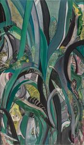 Serie Litografía y Collage  1            0.50 x 0.50 cm