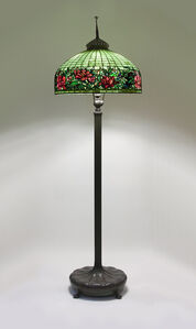 Peony Border Senior Floor Lamp