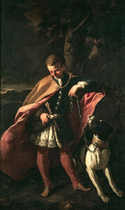 Portrait of Michelino Pagani, the Turkish slave adopted by Marchese Cesare Pagani