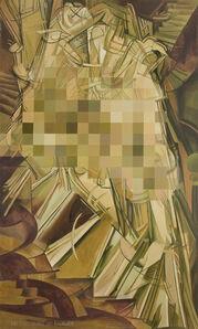 Censored Nude Descending a Staircase