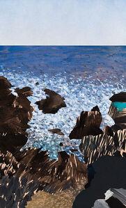 Painting 172 (Moonee Beach)