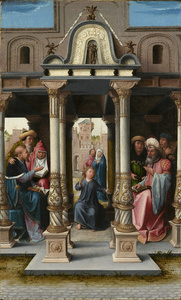 Christ among the Doctors [obverse]