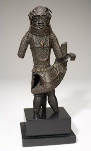 Figure of an Edo King (Oba)