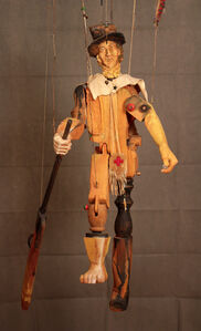 Billy the Kid Marionette