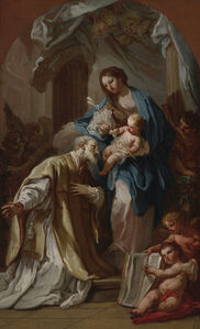 The Madonna Appearing to St. Philip Neri