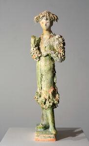 Woman with exaleiptron