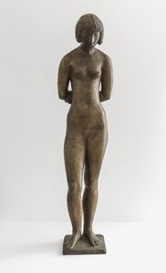 Standing Girl, Arms Behind Back