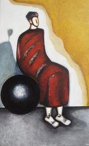 Le penseur sur la sphère