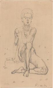 Hector Posing Nude