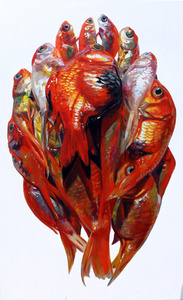 Goldfish in Drop