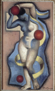 Woman Juggler