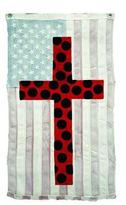 Polka Dot Cross