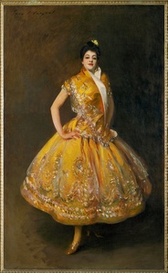 La Carmencita, famous Spanish dancer