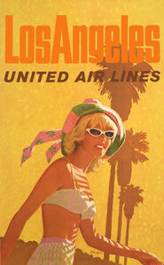 United Air Lines - Los Angeles - Palm Tree - Fashion