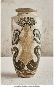 Vase with Nudes