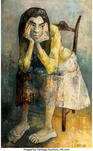 Untitled (Seated Girl)