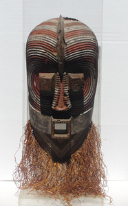 Antique African Congo Songye Tribal Mask