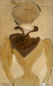 Hildebrand (Portrait of a Woman in Hat)